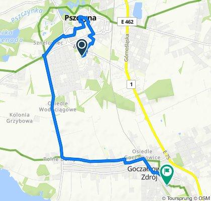 Spokojna trasa do Goczałkowice-Zdrój