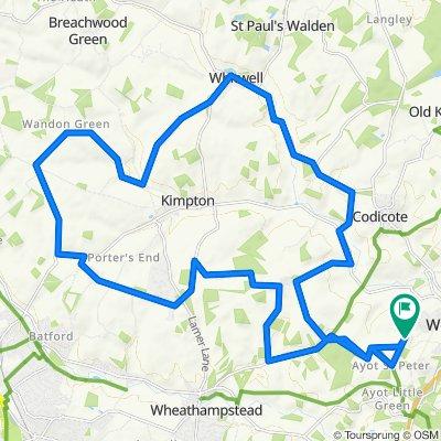 Welwyn loop 32km