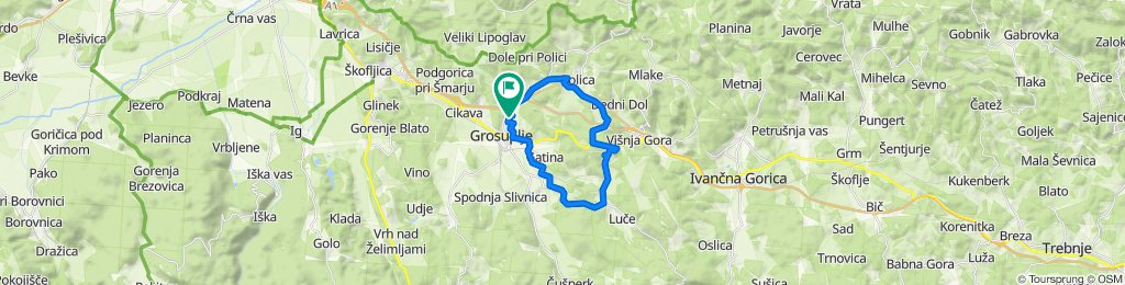 Steady ride in Grosuplje