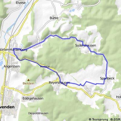 Nörten-Hardenberg-Reyershausen-Billingshausen-Sudershausen CLONED FROM ROUTE 536605