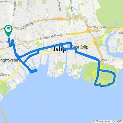 1393 Manatuck Blvd, Bay Shore to 1393 Manatuck Blvd, Bay Shore