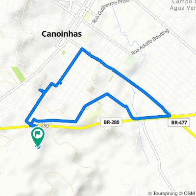 Caminhada lenta Canoinhas