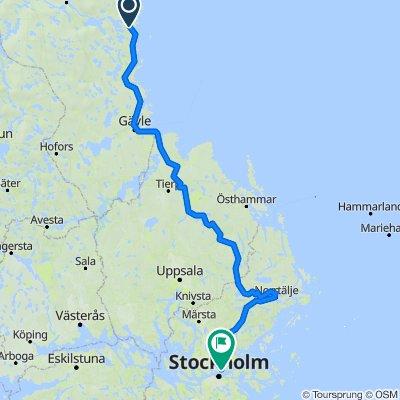 Askersvägen 15, Ljusne to Brantingsgatan 27, Stockholm
