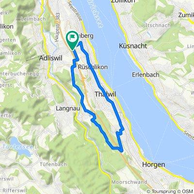 Slow ride in Kilchberg ZH