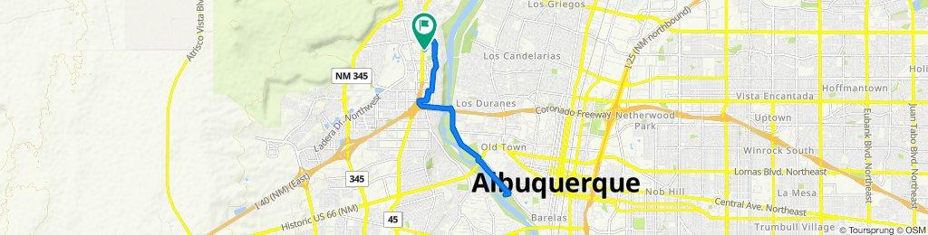 3816 Fox Sparrow Trail NW, Albuquerque to 5416 Blue Jay Ln NW, Albuquerque