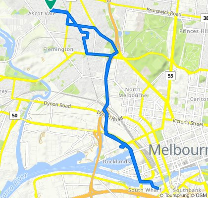 62 Bloomfield Road, Ascot Vale to 64 Bloomfield Road, Ascot Vale