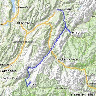 Stage 9 - Albertville-Alpe d Huez