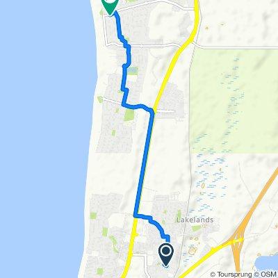 15 Maddox Vista, Mandurah to 16 Dampier Drive, Golden Bay