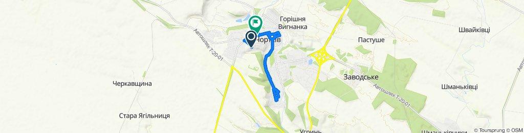 Easy ride in Chortkiv