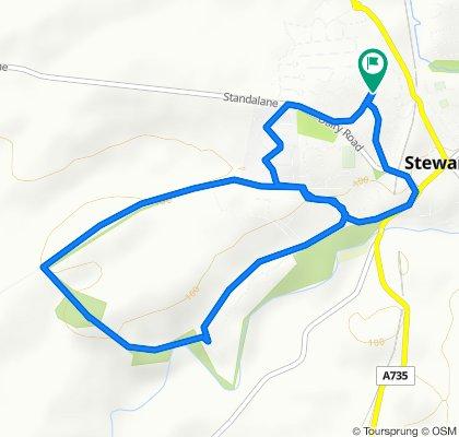 Kirkmuir Drive 69, Stewarton to Kirkmuir Drive 71, Stewarton