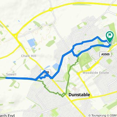 Easy ride in Dunstable