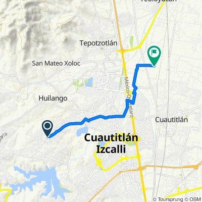 De Avenida San Casimiro a Avenida Juarez 22, Cuautitlán Izcalli
