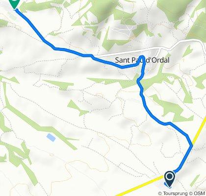De Passeig de les Moreres 24, Cantallops a Carrer del Comte de Lavern 21