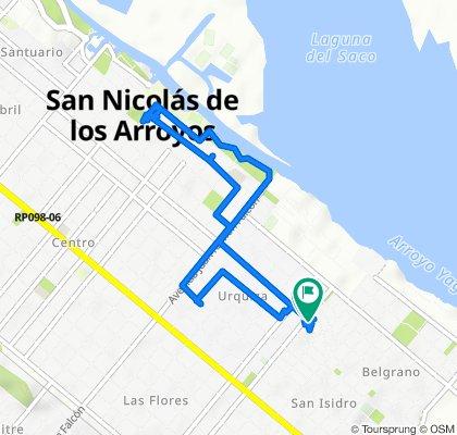 De 25 de Mayo 599, San Nicolás de Los Arroyos a Benítez 212, San Nicolás de Los Arroyos