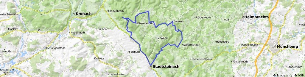 GER Frankenwald Neumühle - Mittelberg