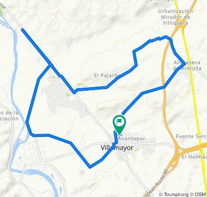 Ruta moderada en Villamayor
