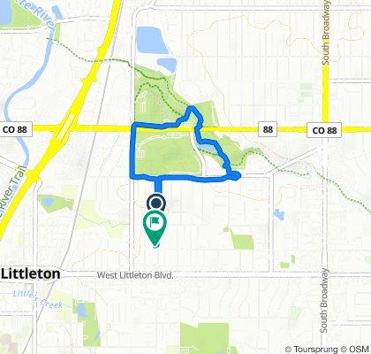 South Datura Street 5493, Littleton to South Datura Street 5593, Littleton
