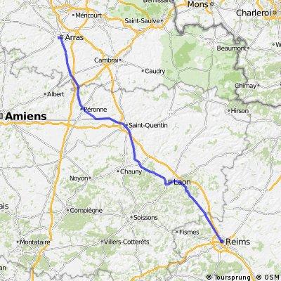 (2) Stage 1 - Arras-Reims