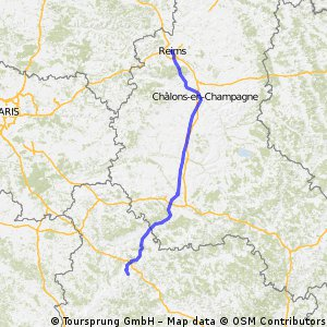 (2) Stage 2: Reims-Auxerre