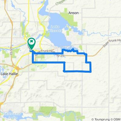 East Linden Street 402, Chippewa Falls to A Street 615, Chippewa Falls