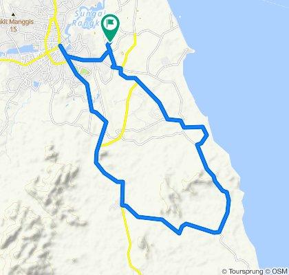 Unnamed Road, Bukit Intan to Unnamed Road, Bukit Intan