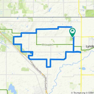 401–421 Crabtree Farm Dr, Lynden to 401–421 Crabtree Farm Dr, Lynden