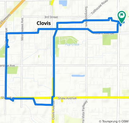 McArthur Avenue 411, Clovis to McArthur Avenue 411, Clovis
