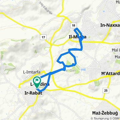 Restful route in Rabat-Malta