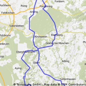 Ottenhofen/Markt Schwaben Richtung Süden