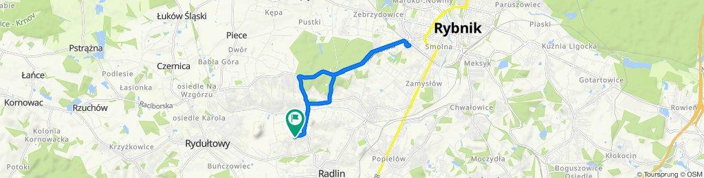 Łatwa trasa w Rybnik
