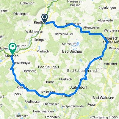 Deutsche Fachwerkstrasse - Riedlingen-Mengen