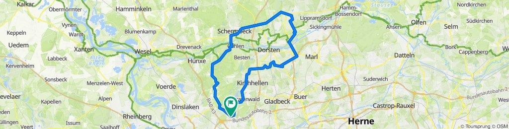 Storchenring 31, Oberhausen nach Storchenring 31, Oberhausen