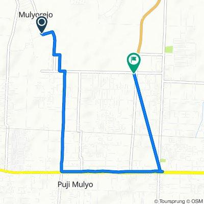 Jalan Penampungan, Kecamatan Sunggal to Jalan SMP N 2 104, Kecamatan Sunggal
