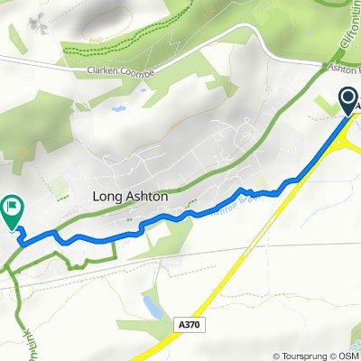 Moderate route in Bristol
