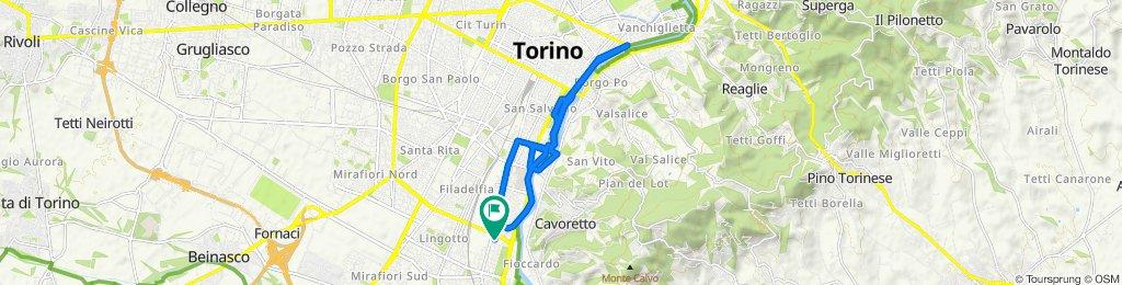 Percorso rilassato in Torino