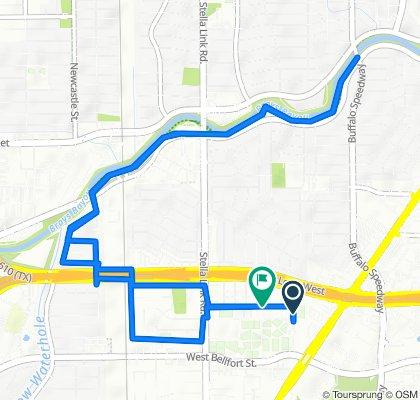 9801–9887 Timberside Dr, Houston to 9802 Cynthia Ann Ct, Houston