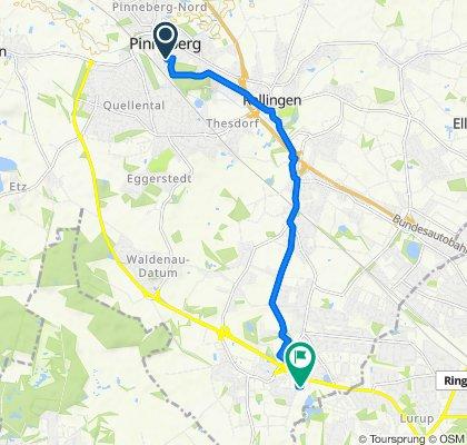 Entspannende Route in Schenefeld