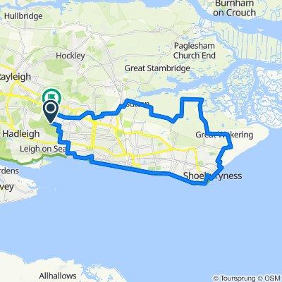 Leigh-on-Sea Cycling
