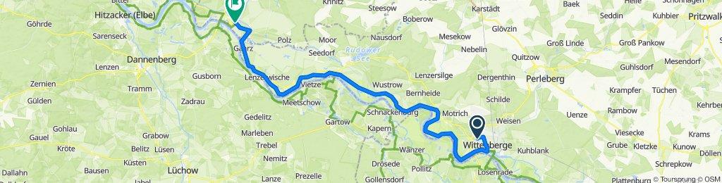 8. Tag: Wittenberge - Dömitz