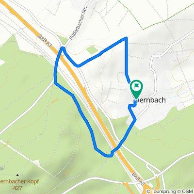 Gartenstraße 14, Dernbach nach Gartenstraße 12, Dernbach