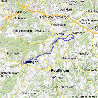 Neckartalradweg Ntg - Tü