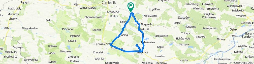 Łatwa trasa w Raczyce