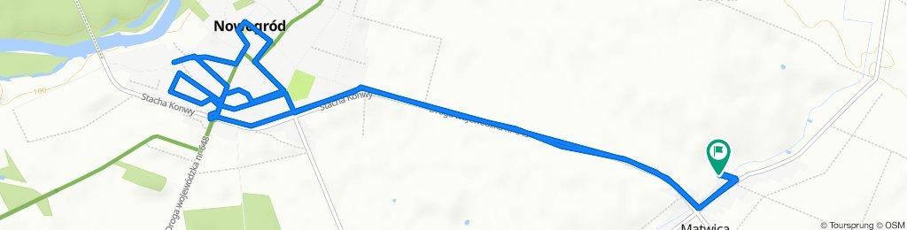 Spokojna trasa do Mątwica