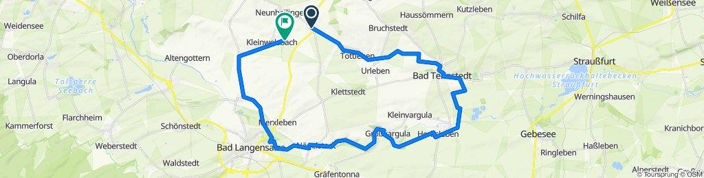 Unstrut Radweg Kirchheilingen