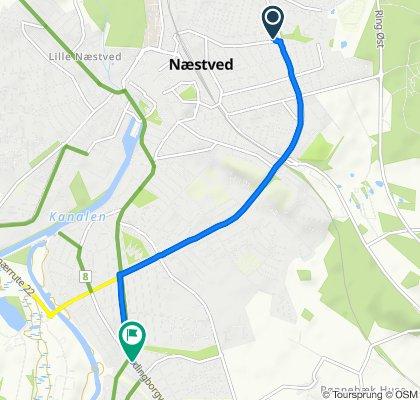 Restful route in Appenæs