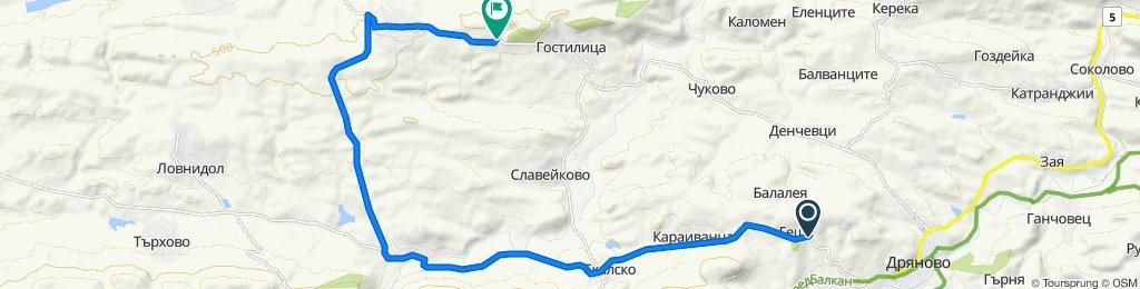 Easy ride in Dryanovo
