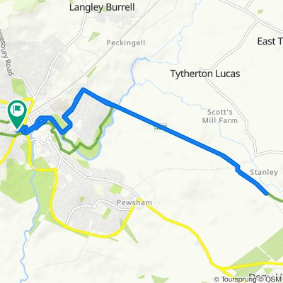 Slow ride in Chippenham