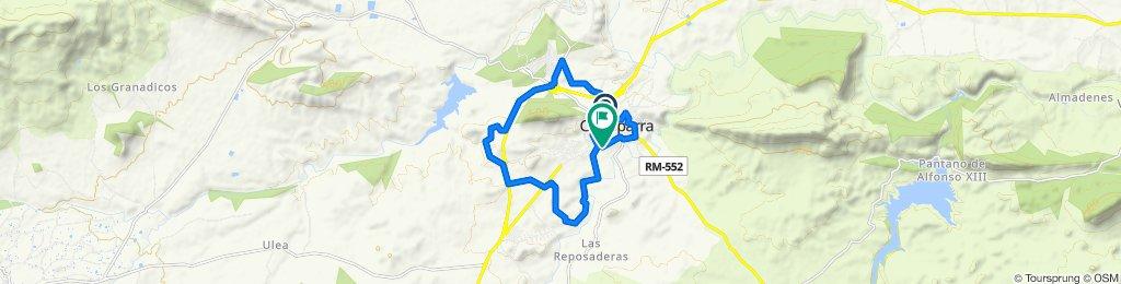 Ruta moderada en Calasparra