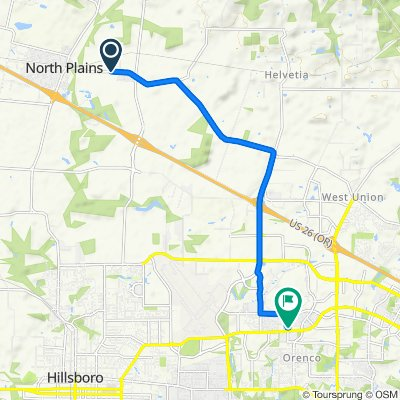 Easy ride in Hillsboro