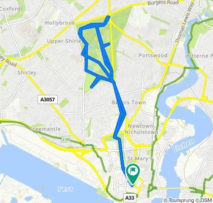 Slow ride in Southampton